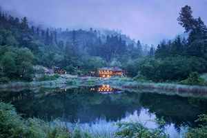 The Lakehouse at Calistoga Ranch