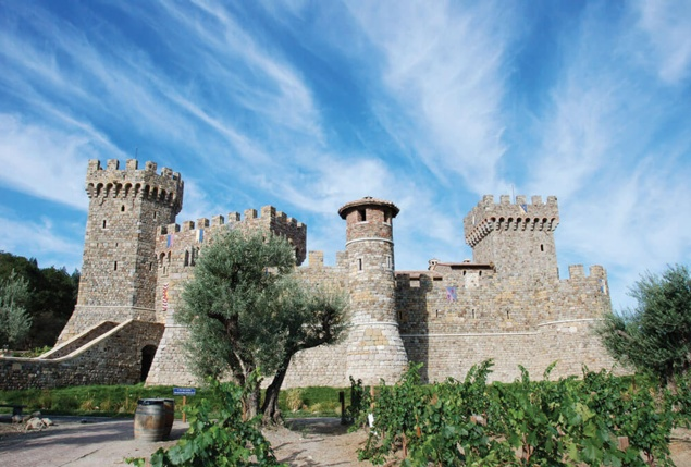 First Republic Bank Stage at Castello di Amorosa